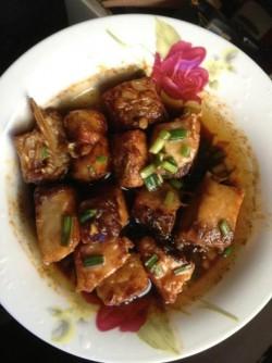 家常菜—红烧草鱼