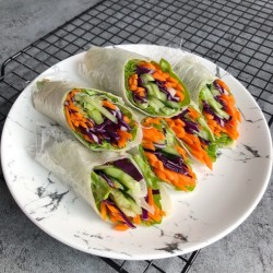 豆皮素菜卷