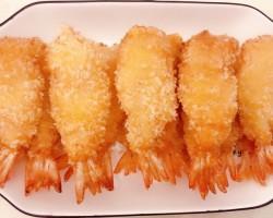 黄金凤尾虾的做法及步骤