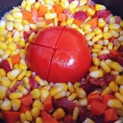 一整个番茄焖饭