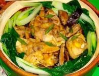 香菇滑鸡煲仔饭怎么做好吃 香菇滑鸡煲仔饭的做法,配方