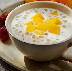 芒果牛奶西米露怎么做好吃 芒果牛奶西米露的做法