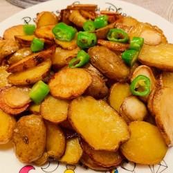 小炒土豆片