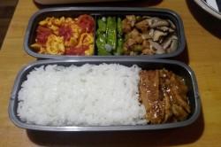 虾干海带饭
