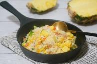 菠萝蛋炒饭怎么做好吃 菠萝蛋炒饭的做法