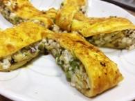 带着美食去踏青香椿豆腐鸡蛋卷的做法