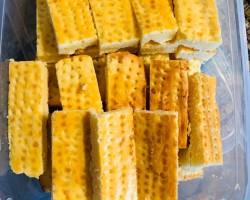 糖尿病人的休闲零食——奶酪饼干