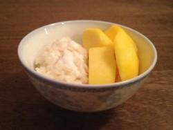 泰式芒果糯米饭--东南亚的异国美食(1)