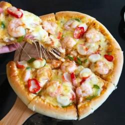 扇贝海鲜披萨怎么做好吃
