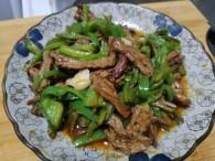 青椒炒牛肉()的做法