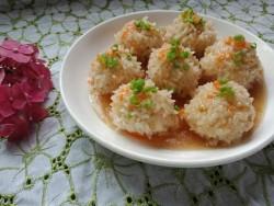 蒸糯米肉丸子
