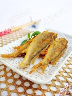酥炸小黄花鱼的做法_美食方法