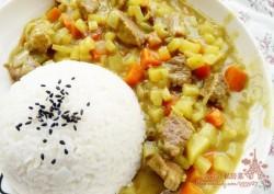 咖喱牛肉饭——宝宝辅食