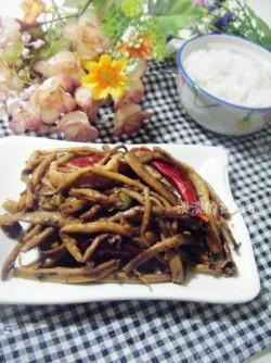 干煸茶树菇怎么做好吃 干煸茶树菇