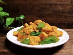 青椒油豆腐的做法