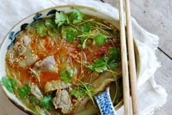 家常版牛肉粉丝汤