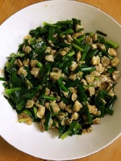 韭菜炒蚬肉怎么做好吃