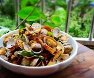 辣炒花蛤的做法_美食方法