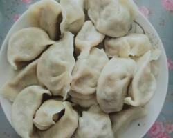 春节主食白菜蒸饺