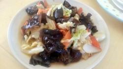 白菜木耳粉丝汤