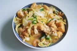 油豆腐炖白菜的做法