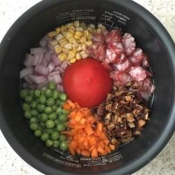 电饭煲番茄焖饭