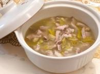 潮汕咸菜猪肚汤的做法