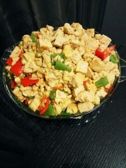 凉拌菜(7)凉拌豆腐鸡蛋