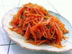 清炒胡萝卜丝(1)