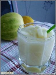 香瓜柠檬汁的做法