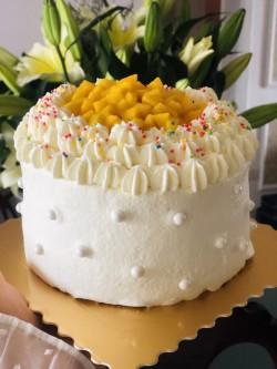 芒果奶油蛋糕怎么做好吃 芒果奶油蛋糕