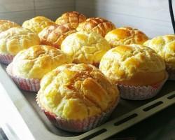 【长帝3.5版电烤箱试用报告】香葱菠萝包(1)