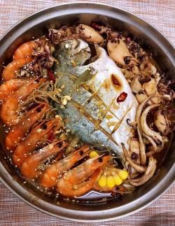 【川菜】麻辣海鲜锅