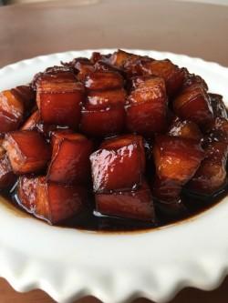 上海本帮特色的浓油赤酱——外婆红烧肉(1)