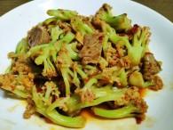 干锅花菜①的做法_美食方法