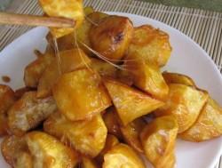 自制零食一一拔丝红薯