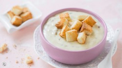 情人节菜谱之奶油蘑菇汤
