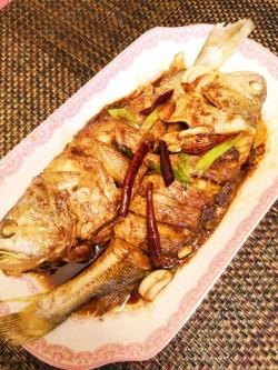 干烧黄花鱼