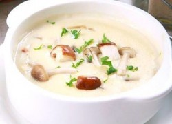 奶油蘑菇浓汤简单做法