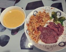 瓜香怡人—牛奶南瓜浓汤