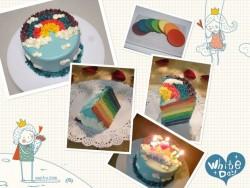 推推乐彩虹蛋糕