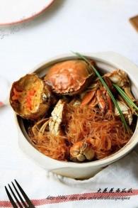 大闸蟹粉丝干锅