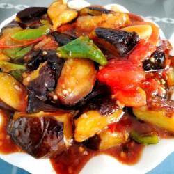 睿睿家经典菜菜------烧茄子