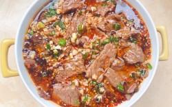正宗四川家常菜水煮牛肉#肉肉厨