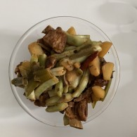 排骨土豆炖豆角怎么做好吃 排骨土豆炖豆角的做法,步骤