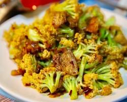 干锅菜花(1)