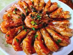 红烧大虾(图解)的做法_美食方法