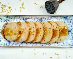桂花莲藕小枣