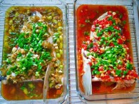 双色剁椒鱼头怎么做好吃 双色剁椒鱼头的做法