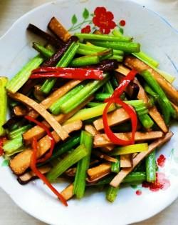 芹菜炒香干(2)
